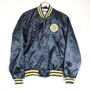 vtg Boston Bruins bomber Swingster sports jacket